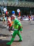 Spaß-Seitentriebe am London-Marathon 25. April 2010 Stockbild