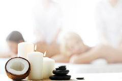 Spa session Royalty Free Stock Photo