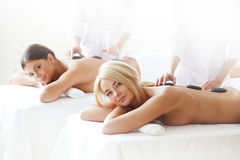 Spa session royalty free stock photography