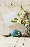 Spa set with towel candles and flowers shells Royalty Free Stock Images