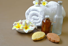 Spa settiing Royalty Free Stock Photos
