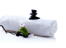 Spa setting royalty free stock photo