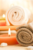 Spa setting Royalty Free Stock Images