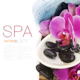 SPA setting Stock Image