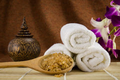 Spa setting for skin care Stock Images