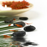 Spa settings Royalty Free Stock Images