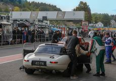 In Spa Francorchamps the Spa Six Hours endurance race royalty free stock image