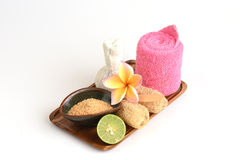 Spa skin with natural ingredients. Stock Image