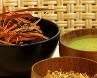 SPA spices Stock Photos