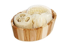 Spa sponge Royalty Free Stock Photography