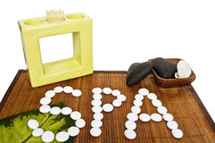 Spa still life Stock Images