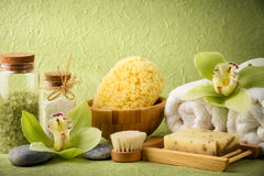 Free Spa Still Life Royalty Free Stock Images - 56895239