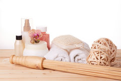 Spa still life. Body care concept. Stock Images