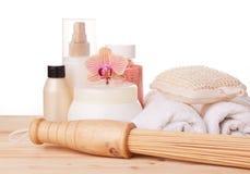 Spa still life. Body care concept. Stock Photo