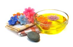 Spa still life concept. Royalty Free Stock Image