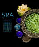 Spa Still Life with a copy space Stock Image