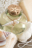 Spa still life with essential oil Stock Image