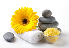 Spa still  life with flower Stock Photo
