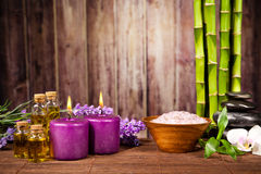 Spa still life. With free space for text Stock Image