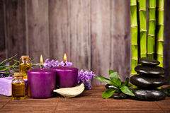 Spa still life. With free space for text Stock Images