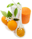 Orange spa Royalty Free Stock Photo