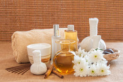 Spa still life in relaxing spa setting. Stock Photography