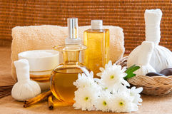 Spa still life in relaxing spa setting. Stock Images
