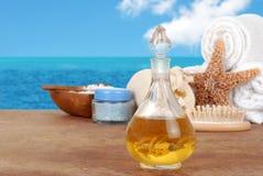Free Spa Still Life With Vanilla Perfume Royalty Free Stock Photo - 25498345