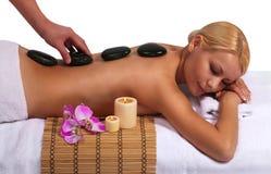 Spa Stone Massage. Stock Image