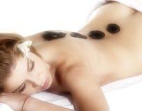 Spa Stone Massage Royalty Free Stock Photos