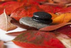 Spa stones. Zen dagger for spa treatments Royalty Free Stock Image