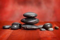 Spa stones Stock Image