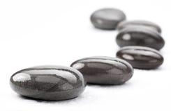 Spa -stones. Spa -stones isolated on a white stock photos