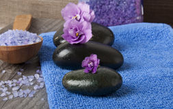 Spa stones Stock Images