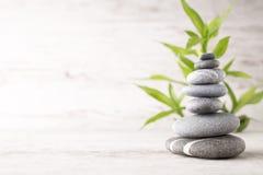 Spa Stones. Stock Image