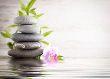Spa Stones. Royalty Free Stock Images
