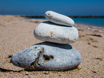 SPA Stones. On the beach Stock Photography