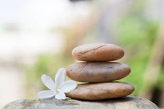 Spa stones concept Stock Photography