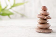 Spa stones. Stock Photo