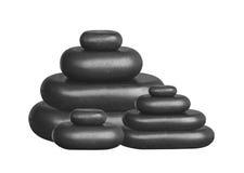 Spa stones isolated on white Royalty Free Stock Photo