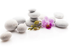 Spa stones. Royalty Free Stock Photos