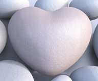 Spa Stones Means Valentine Day And Calmness Stock Photography