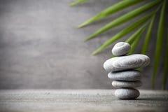 Spa stones. Stones spa treatment scene, zen like concepts Stock Photography