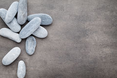 Spa stones treatment scene, zen like concepts. Royalty Free Stock Images