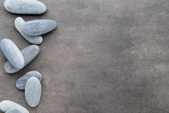 Spa stones treatment scene, zen like concepts. Stock Image