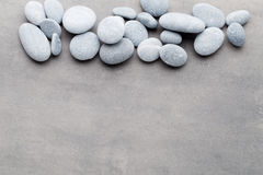 Spa stones treatment scene, zen like concepts. Stock Photography