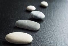 Spa stones treatment scene, zen like concepts.  Royalty Free Stock Photos