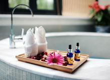 Spa stuff Stock Images