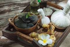 Spa stuff Royalty Free Stock Images