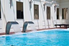 Spa swimming-pool Royalty Free Stock Photo